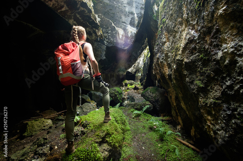 Tela explore ancient fortress cave