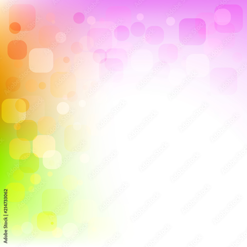 Foto Abstract Colorful Background With Rounded Rectangles