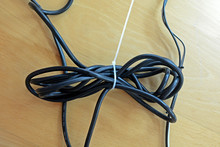Black Cable Wire Binding Toget...