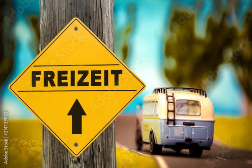 Fotografía  Schild 307 - Freizeit