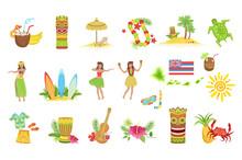 Hawaiian Vacation Set Of Class...