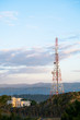 Antenna, Telecomunication station on the high mountain.
