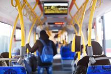 Inside Of City Tram
