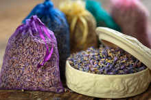 Aromatherapy With Lavender Sachets