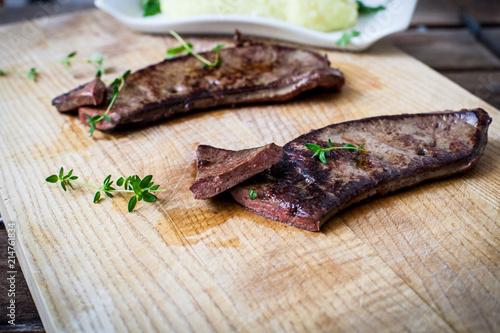Stampa su Tela Fresh veal liver