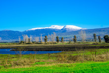 Hula Valley And Mount Hermon, ...