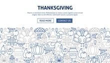 Thanksgiving Banner Design