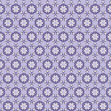 Abstract Geometric Seamless Pattern. Snowflakes