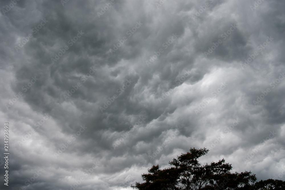 Fototapeta Storm Clouds in Missouri
