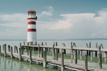 Lighthouse In Podersdorf Am Se...