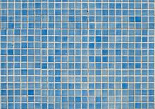 Blue Tile Pattern In Swimming Pool