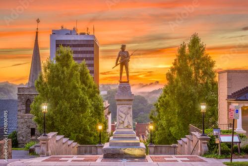 Fotografie, Obraz  Lynchburg, Virginia, USA