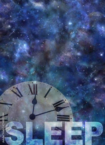 Photo  Awake past 12 Insomnia Background - dark night sky background with a semi transp