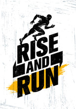 Rise And Run. Marathon Sport E...