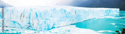 Printed kitchen splashbacks Glaciers Panorama of glacier Perito Moreno, southeast of Argentina