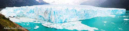 Printed kitchen splashbacks Glaciers Panorama of glacier Perito Moreno, southeast of Argentina