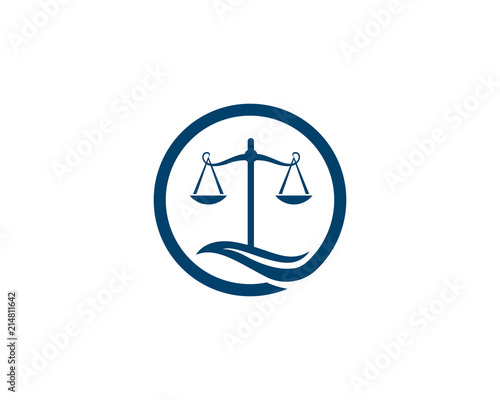 law Firm logo vector template - Buy this stock vector and