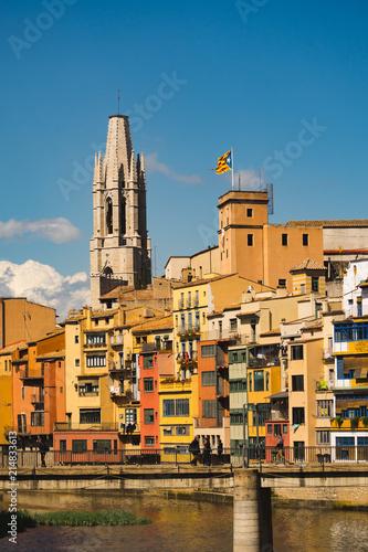 Spoed Foto op Canvas Zuid-Amerika land Visit Girona, Spain