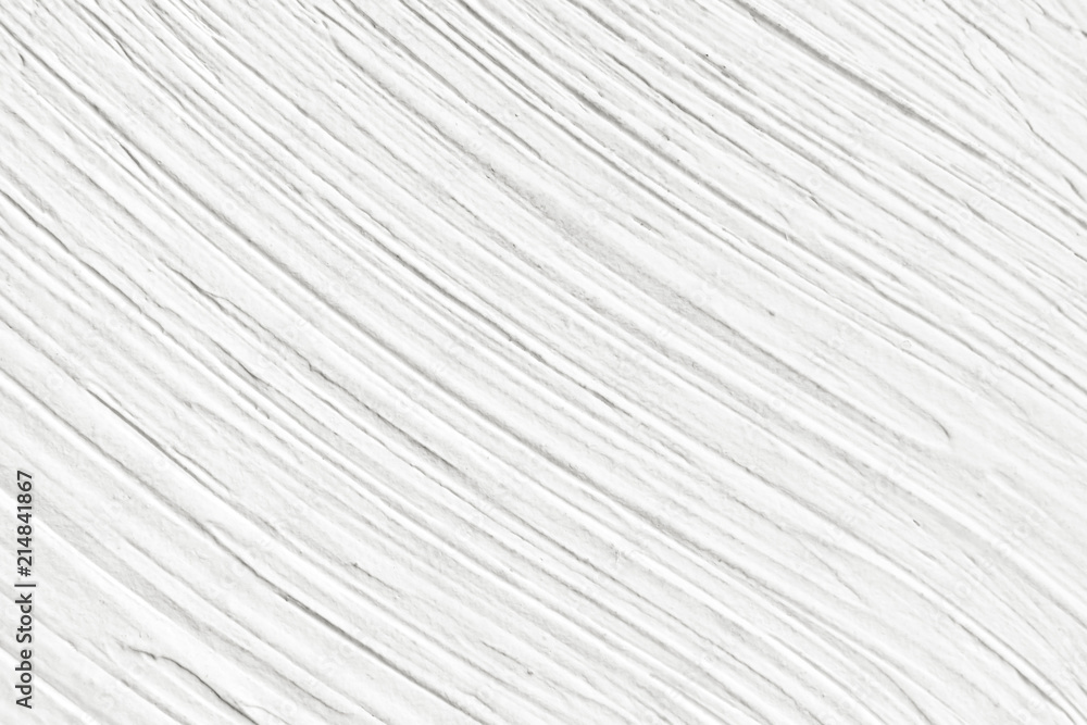 Fototapety, obrazy: Textured white plaster on the wall. Background image, texture.