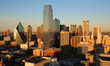 Dallas at sunset, Texas