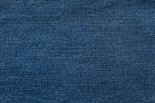 Texture Of Blue Jeans As Background