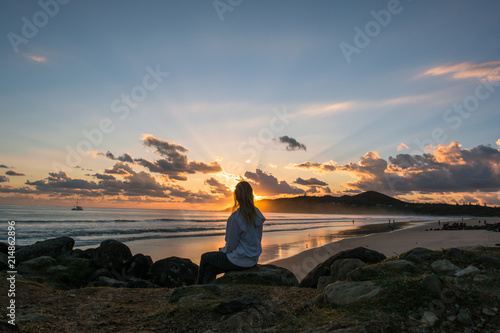 Fotografija Sunrise in Byron Bay - Australia