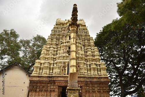 Deurstickers Bedehuis Someshwara temple, Kolar, Karnataka. India