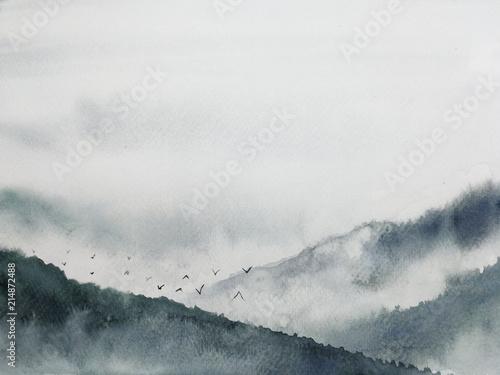 krajobraz-gorska-mgla-atrament