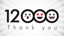 Thank You 12000k Followers Log...