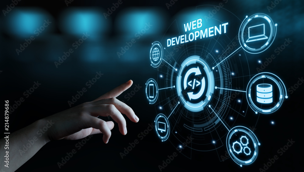 Fototapety, obrazy: Web Development Coding Programming Internet Technology Business concept