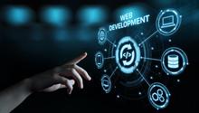Web Development Coding Programming Internet Technology Business Concept
