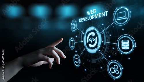 Web Development Coding Programming Internet Technology Business concept