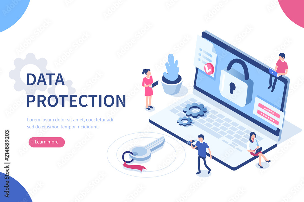 Fototapeta data protection
