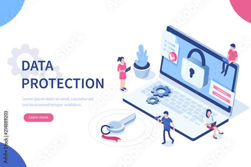 Fotografie, Obraz  data protection