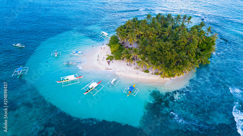 Photo  The Island of siargao in Philippines