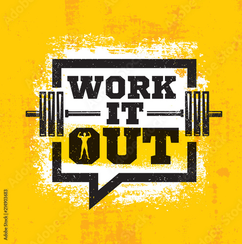 Fotografie, Obraz  Work It Out