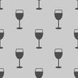wine glass icon illustration