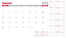 Calendar Planner Template 2019...
