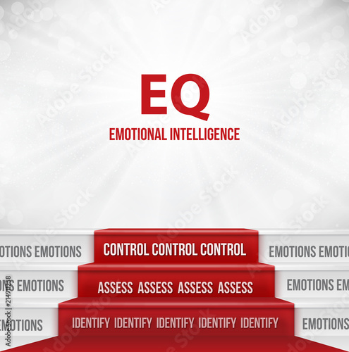 Fotografía  Emotional Intelligence Stages or Step By Step To Higher EQ