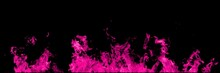 Real Pink Line Of Fire Flames ...