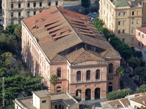 Fotobehang Theater Salerno - Teatro municipale Verdi