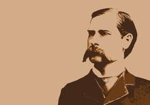 Wyatt Earp - Portrait - Marsha...