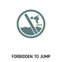 Forbidden To Jump Creative Ico...