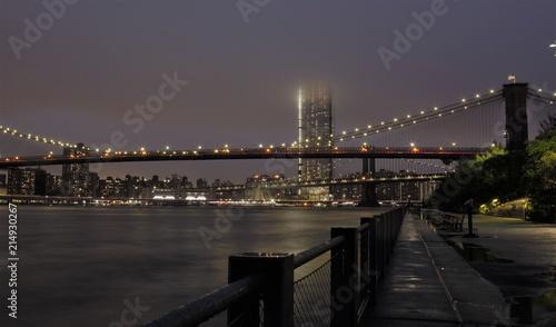 Keuken foto achterwand New York City New York, ponte di Brooklyn