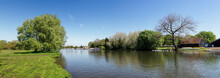 Panorama View Of St Neots Park