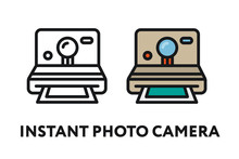 Vintage Instant Photo Film Cam...