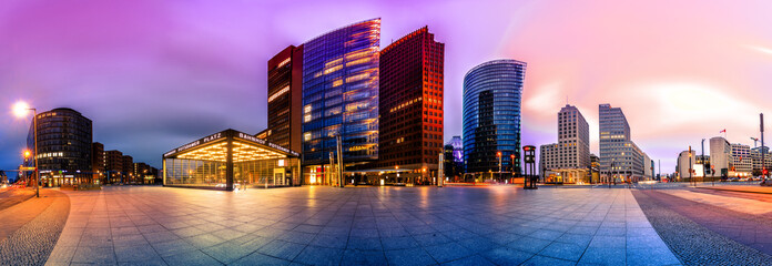 The Potsdammer Platz in Berlin, Germany