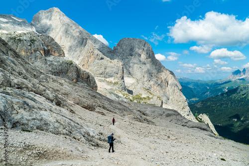 Photo  Ascent to Marmolada, Dolomites, Italy