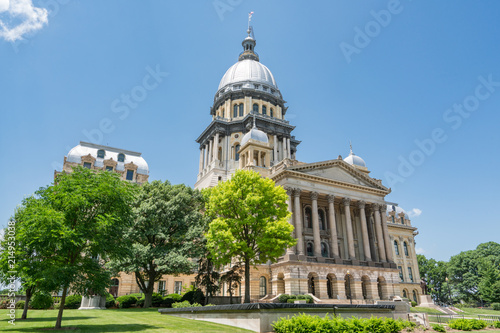 Illinois State Capital Building Wallpaper Mural