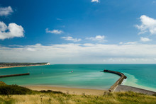 Entrance To Newhaven Harbour S...